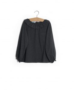 T-shirt gola antracite